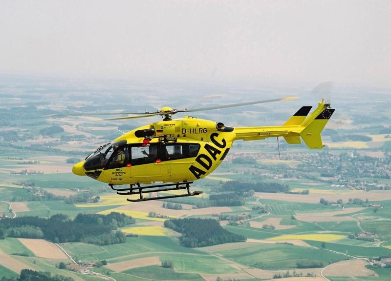 ADAC-Hubschrauber im EInsatz