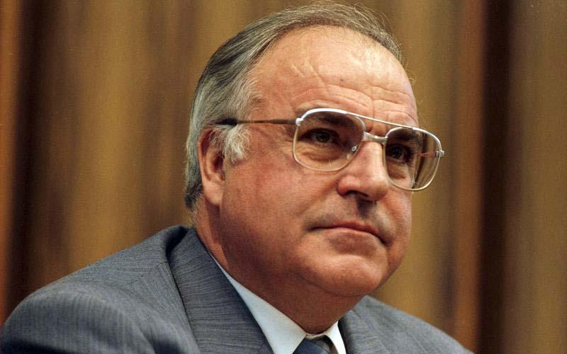 Helmut Kohl: Möchtegern-Bundeskanzler von 1982 bis 2010.