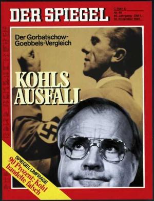Helmut Kohls Aussetzer - der Gorbatschow-Goebbels-Vergleich.