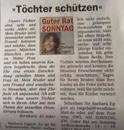 Kolumne Westfalen-Blatt