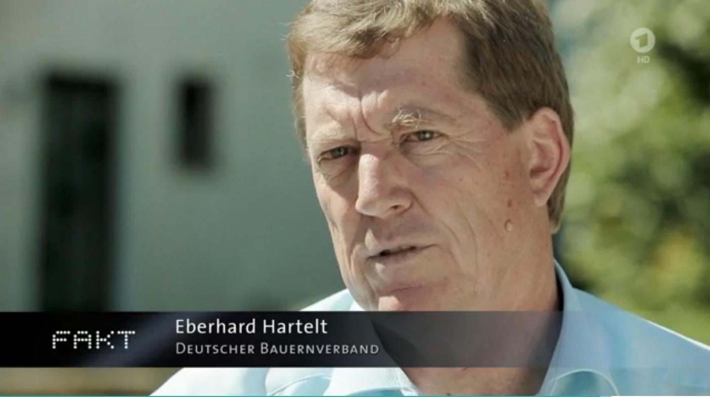 Deutscher Bauernverband im Interview das keines ist. (Foto: MDR)