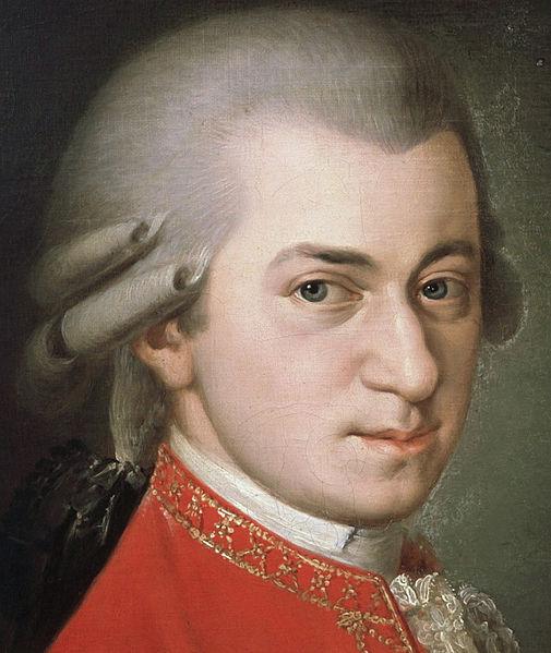 Komponist W.A. Mozart: Auch post mortem ein ziemliches Ferkel. (Quelle: Wiki Commons)